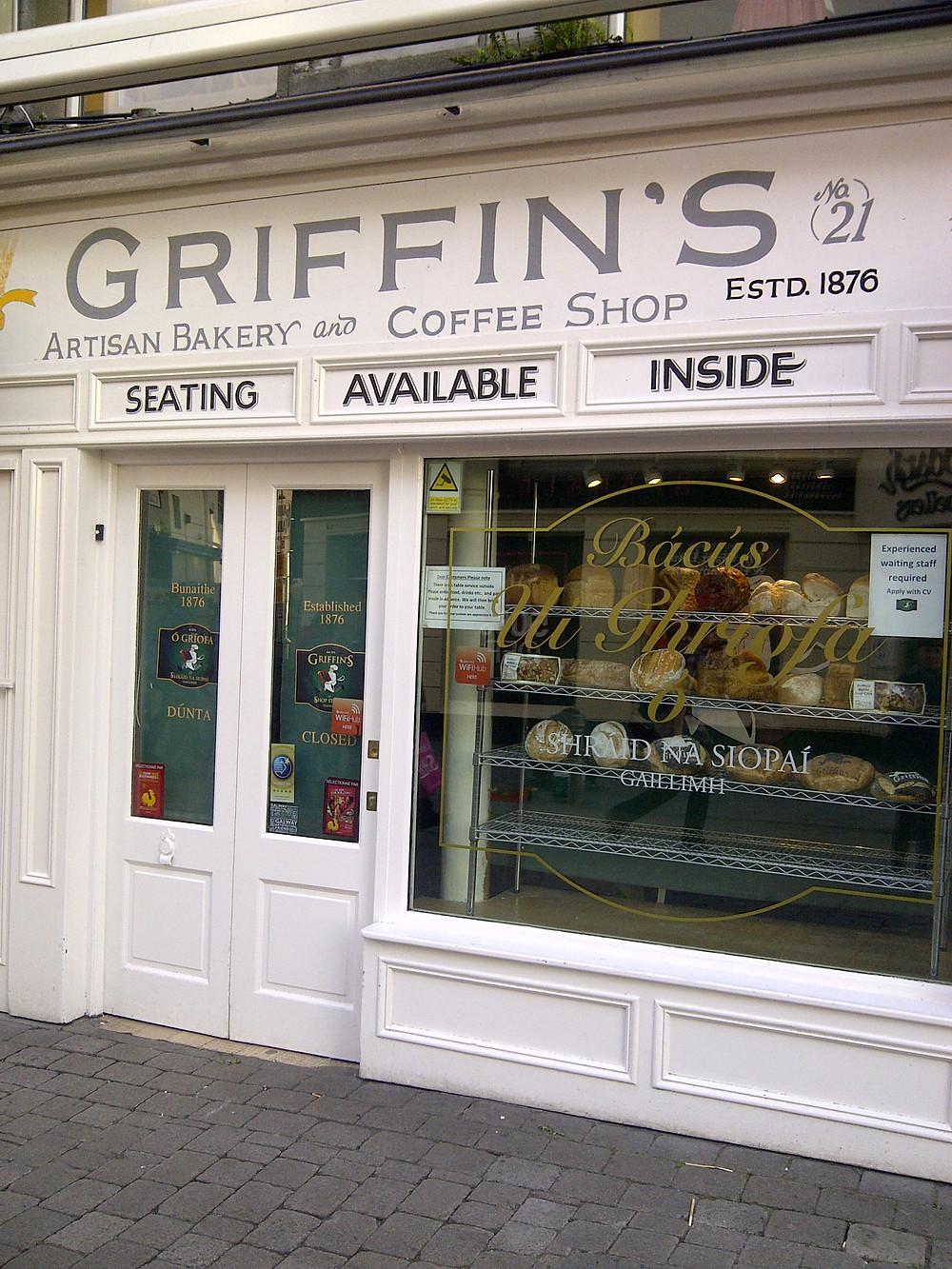 Griffin's bakery | Galway city