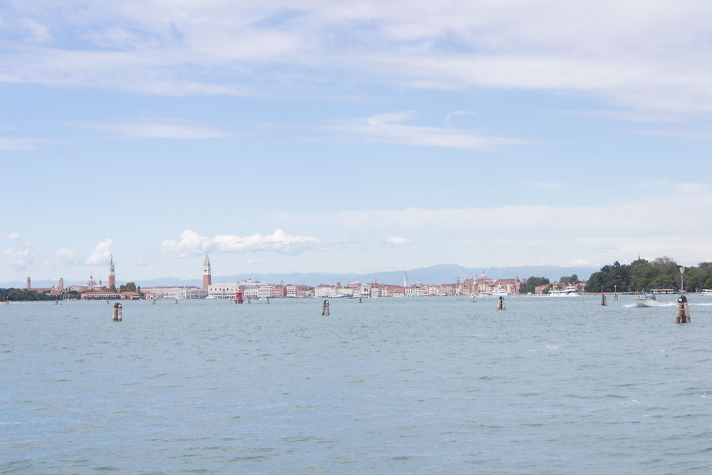 View of Venice from the Lido
