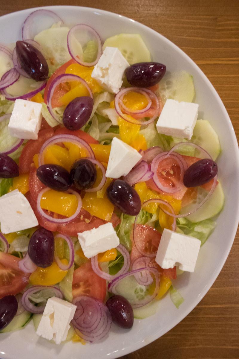 Greek salad | Cantina Arnaldi (Venice, Italy)