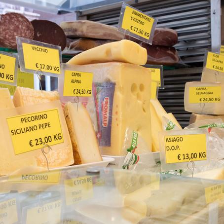 Cheese Shopping in Rialto: La Baita