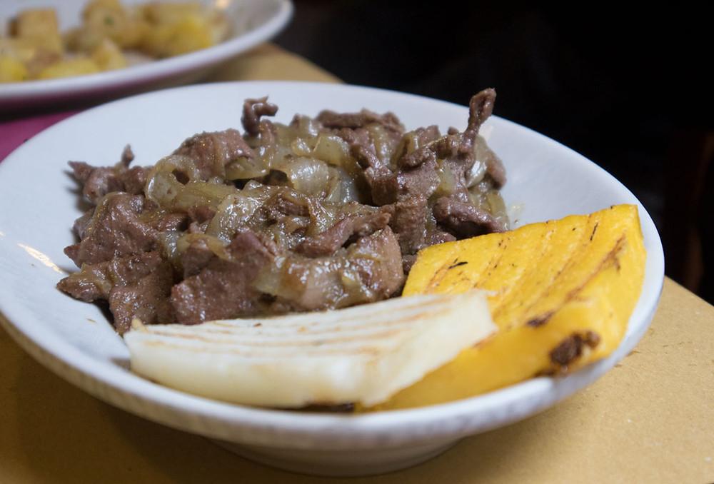 Venetian style liver | Osteria Nono Risorto | Venice - Italy