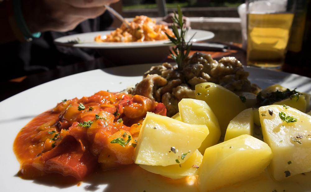 Lunch at Taco Nero, Venice