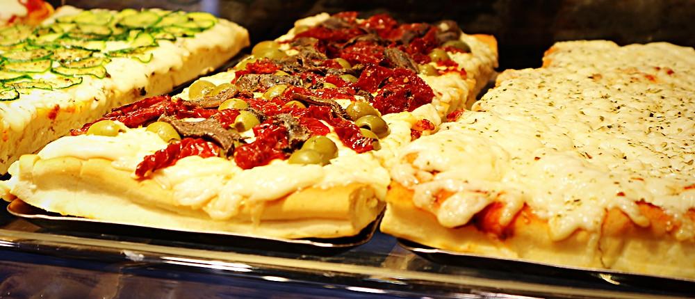 Take away pizza | Colussi Il Fornaio | Venice (Italy)