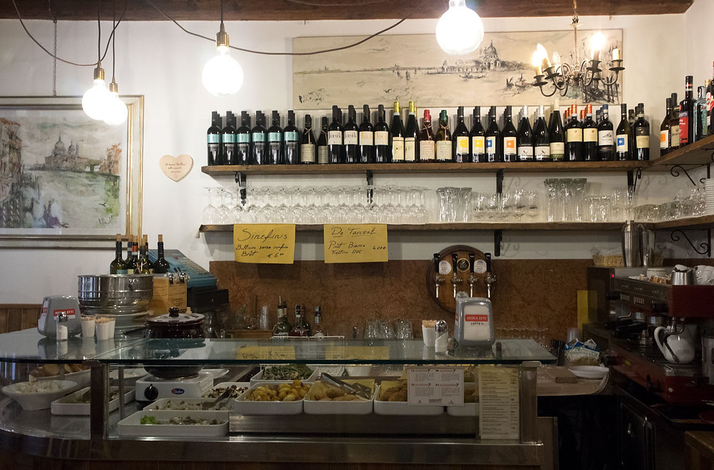 Eating well in San Marco Venice | Bacaro da Fiore