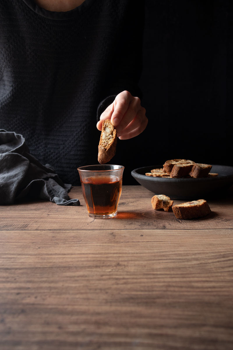 Cantucci with Almonds and Honey | Recipe