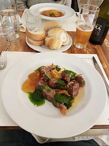 lunch at Retròbottega