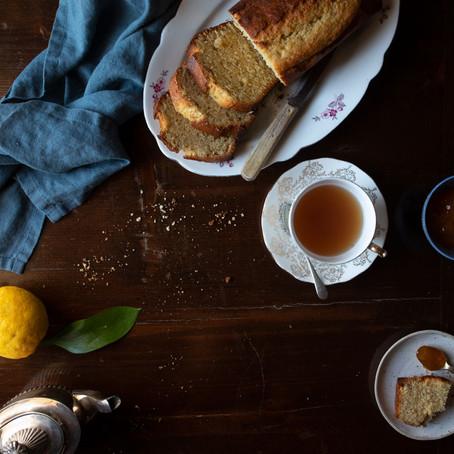 Lemon and Olive Oil Tea-Cake