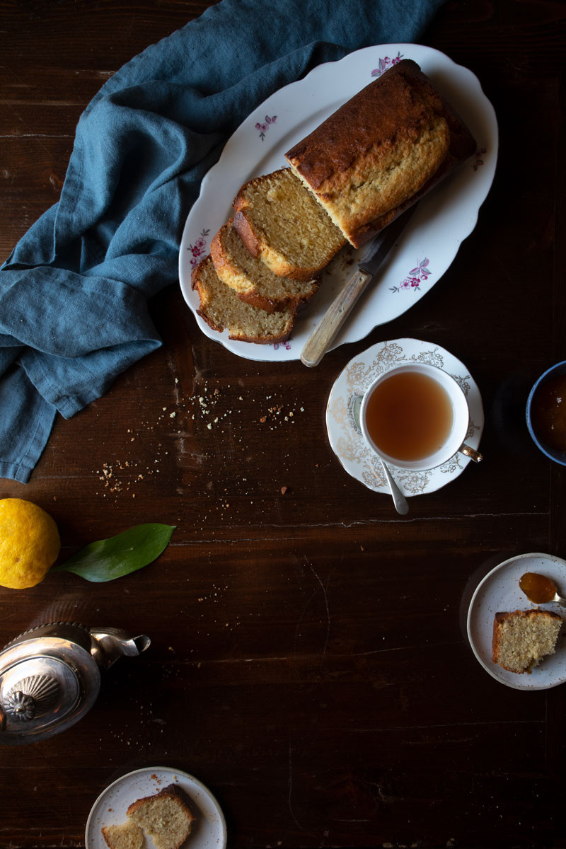 Lemon and Olive Oil Tea-Cake - recipe