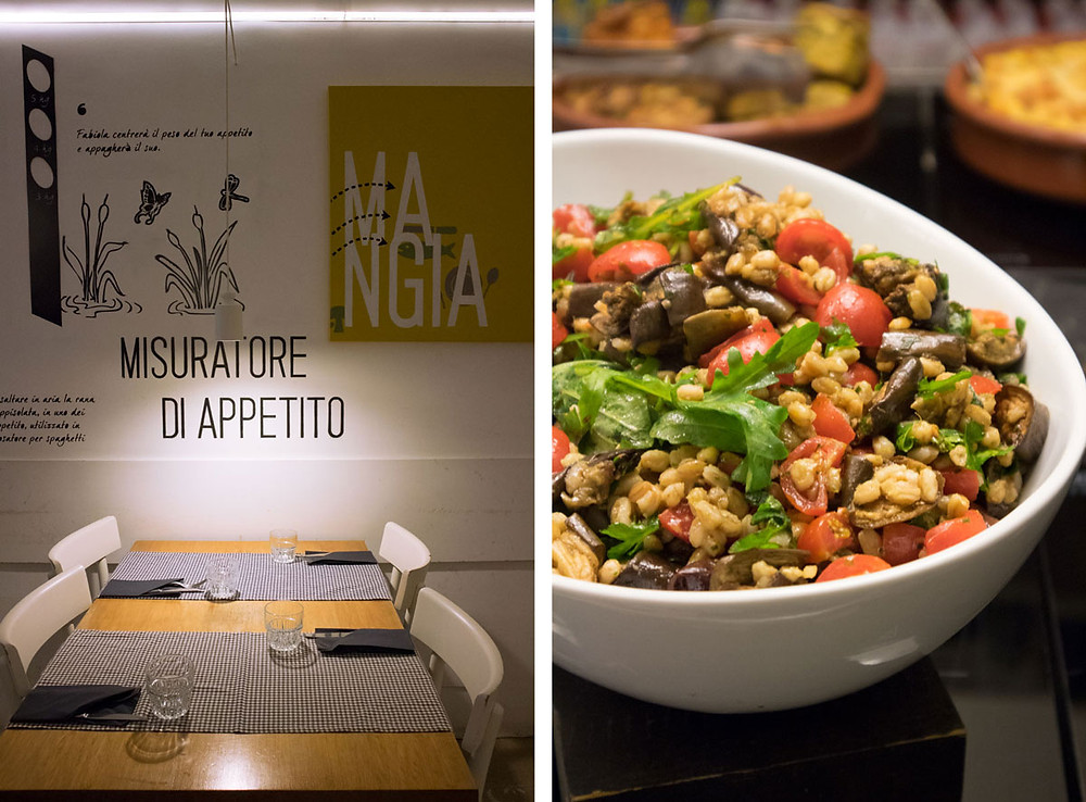 Eating in Naples | Budget - Vegetarian | L'Etto
