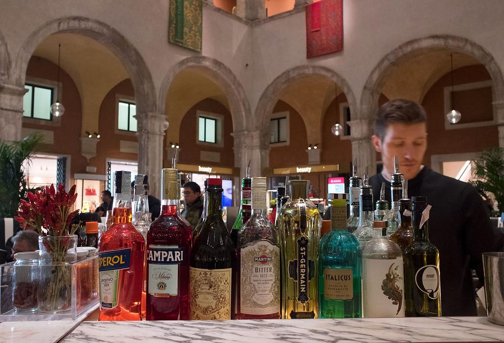 Quality Food in Venice Italy - AMO Alajmo inside the Fondaco dei Tedeschi