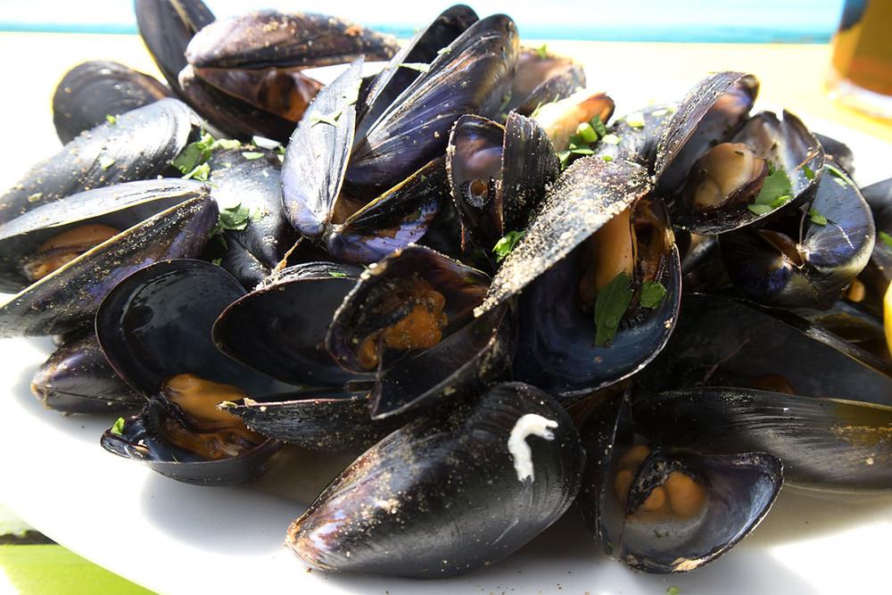 Sautéed mussels | Chiosco Macondo | Venice