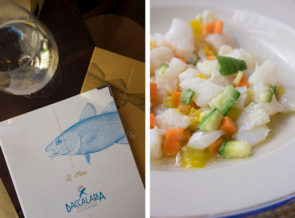 Baccalaria | Excellent fish in Naples Italy