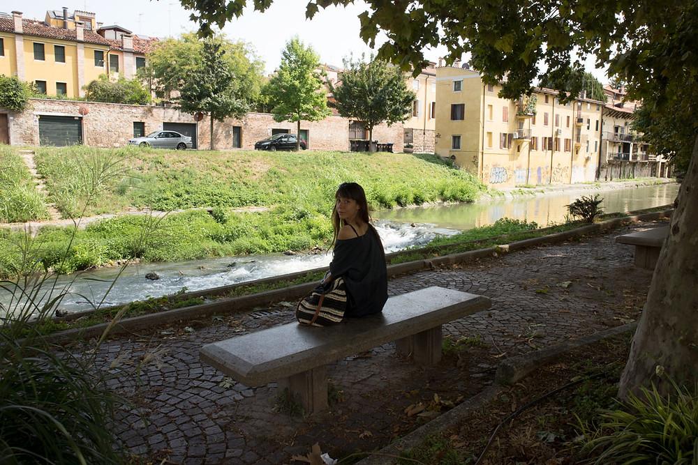 along the river Bacchiglione | Padua