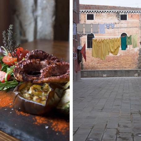 Lavish fish lunch at Ai Nevodi and Castello wanderings