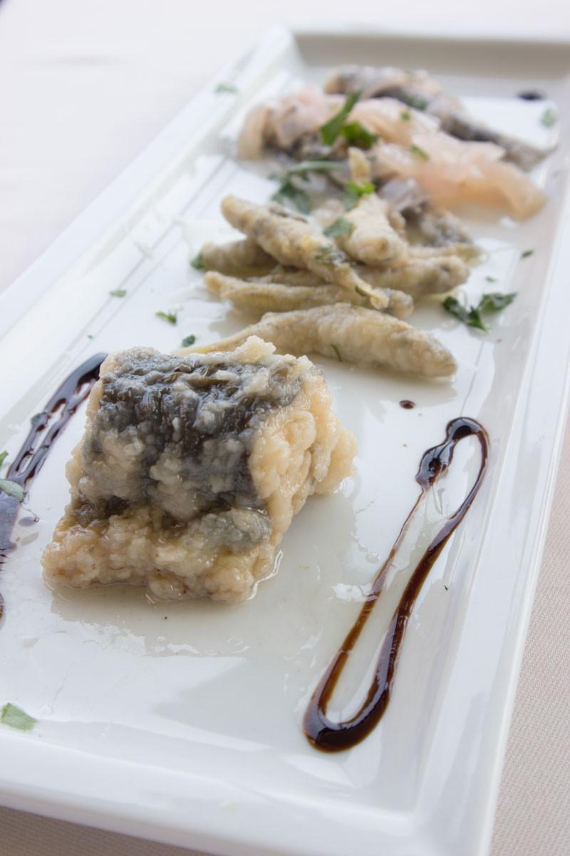 Fish in Saor | Trattoria Altanella | Giudecca (Venice)