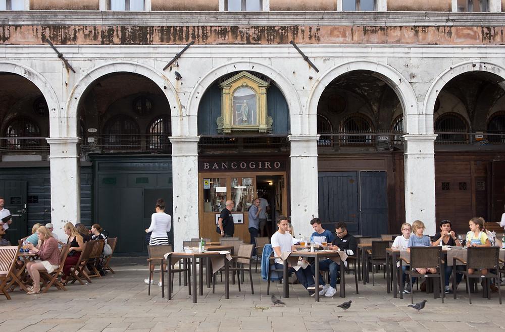 Drinking in Rialto | Osteria Bancogiro | Venice