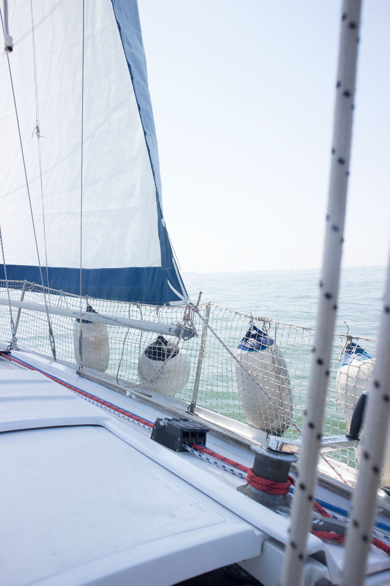 Venice : living on a sailing boat