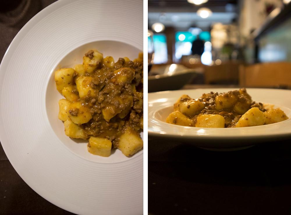 homemade gnocchi | Alle Due Gondolette | Venice - Italy