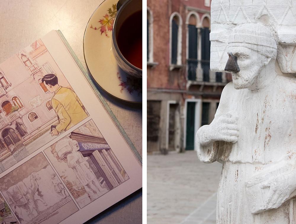 Original books on Venice | sullaluna bookshop and tea-house | Cannaregio, Venice