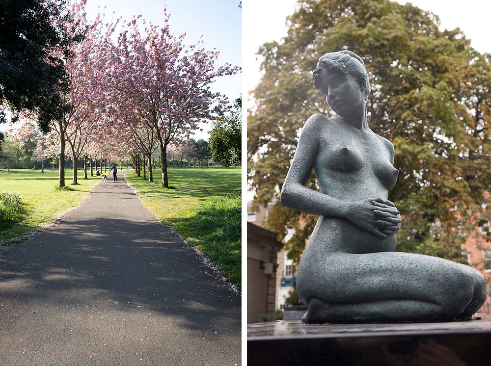 Merrion Square Park - Dublin - Ireland