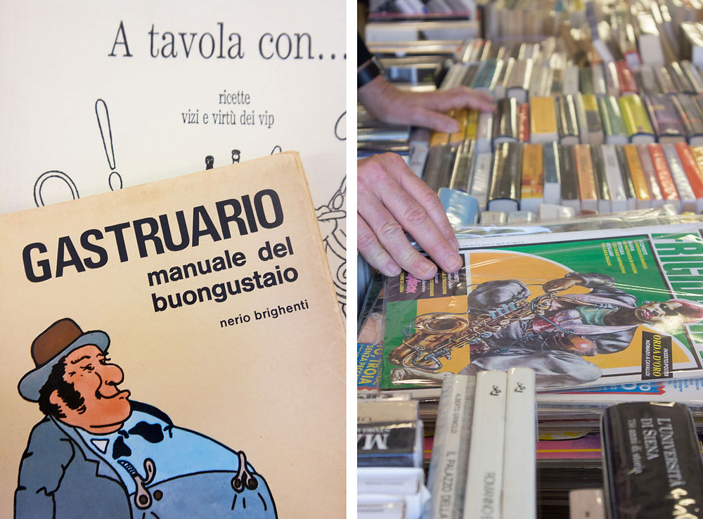 Bookshops and second hand bookstores in Bologna