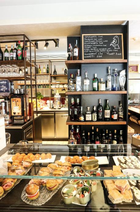 Best place to snack in Venice   Al Theatro