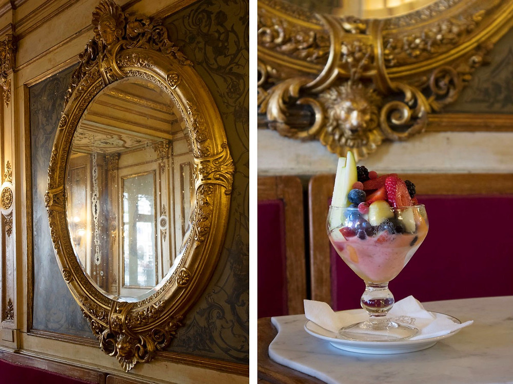 Ice-cream at the Caffè Florian