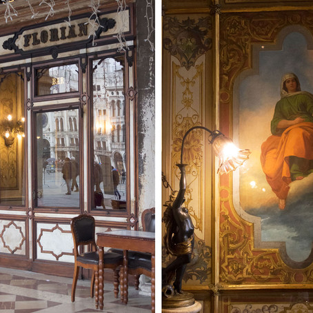 A Carnival treat: frittelle and galani at the Caffè Florian