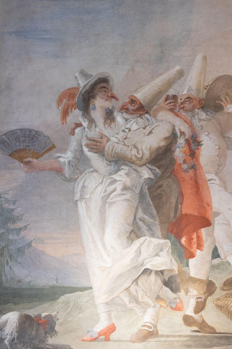 Tiepolo's frescos: Mondo Novo at Ca' Rezzonico (Venice)