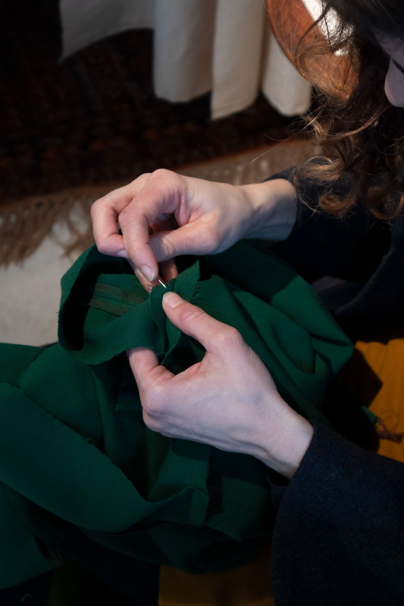 Patience: sustainable fashion made in Venice (Italy). Handmade clothes in organic fabrics