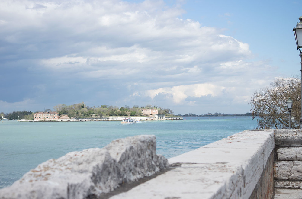 Sant'Andrea island | View from San Nicolò Bridge | Lido of Venice