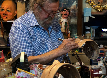 Carlo Setti and The Art of Mask Making