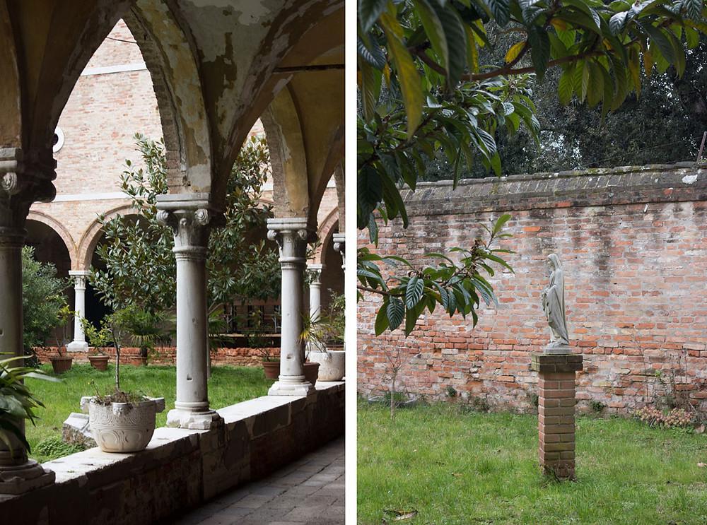 Cloister | Sant'Elena church | Venice Italy