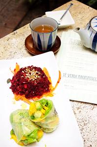 Vegan lunch | Ca' Fujiyama | Venice (Italy)