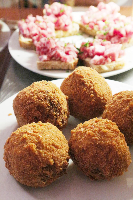 Fried meatballs | Antica Adelaide | Venice