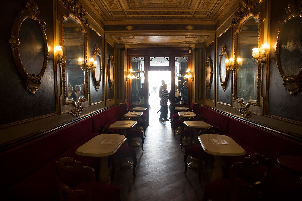 Hall of Illustrious Men | Caffè Florian | Venice, Italy