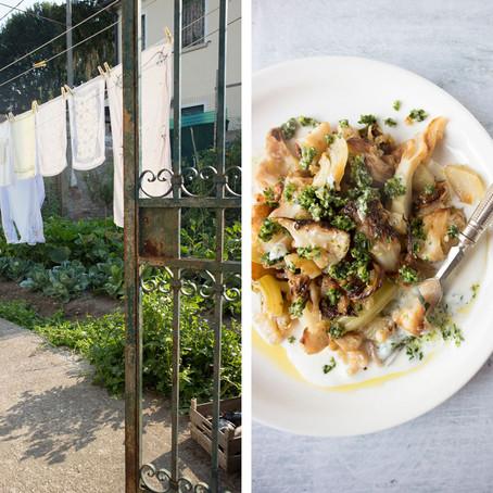 A walk in Mazzorbo and a roasted cauliflower recipe