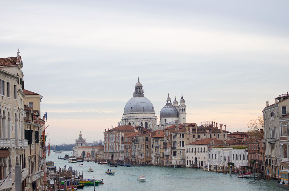 View from Accademia Bridge | Venice - Italy