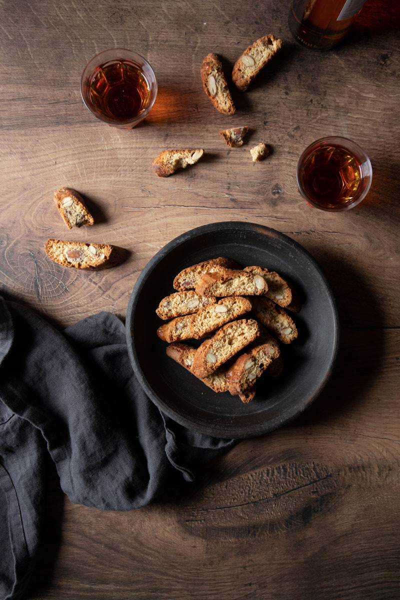 Cantucci with Almonds and Honey   Recipe