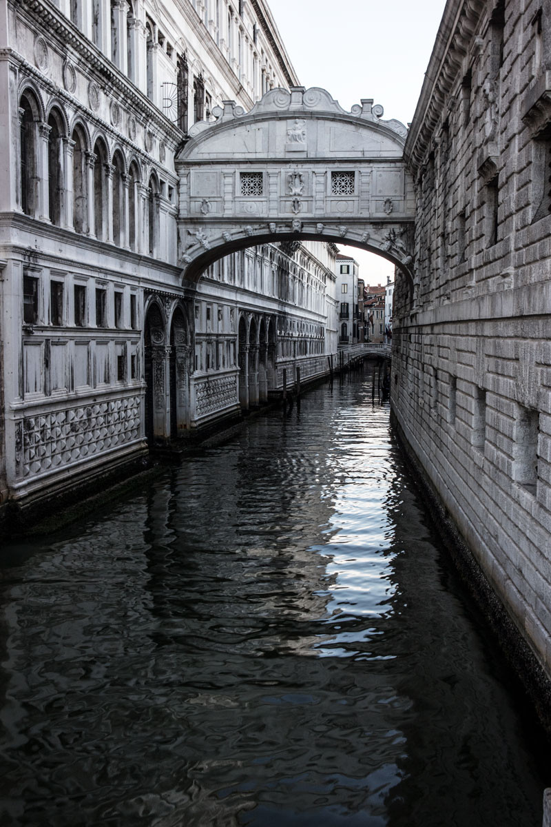 Venice, Italy | Bridge of Sighs