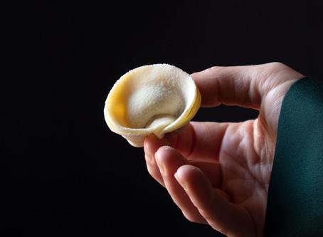 Fresh Vegan Pasta with Zucchini and a Lemony Condiment