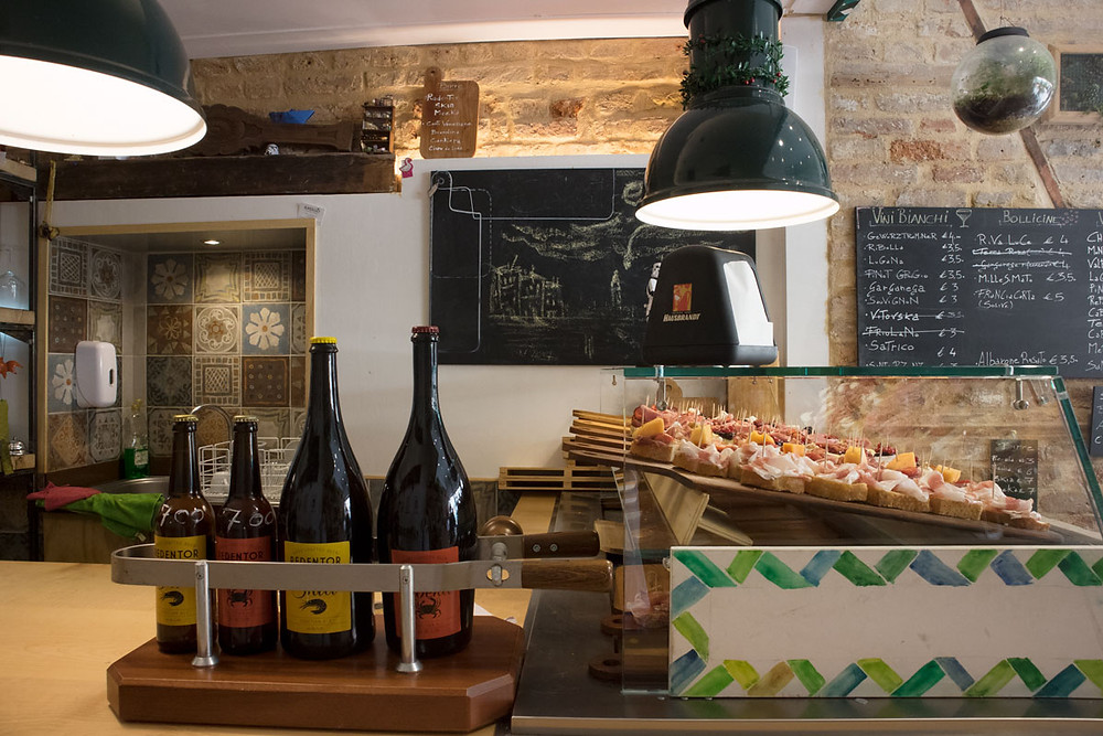 Basegò | Wine, craft beer and cicchetti in Venice (Italy)