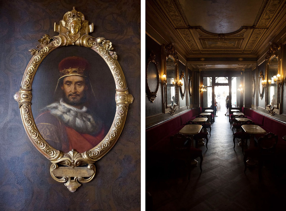 Hall of Illustrious Men | Caffè Florian