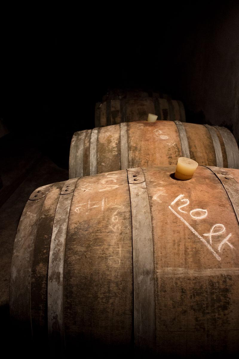 Prosecco barrels