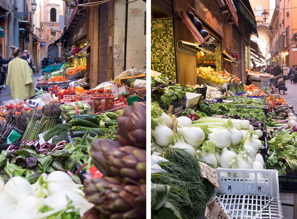 Street food and markets in Bologna | Food Shopping