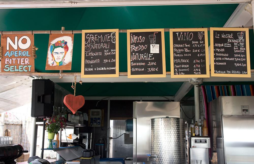 Chiosco Macondo | Alberino beach | Lido, Venice