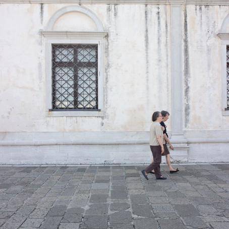 Visiting San Giorgio and snacking on tramezzini