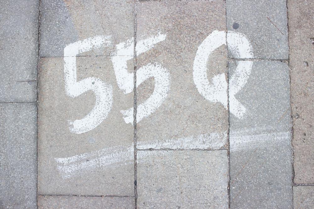 Numbers for Redentore | Giudecca (Venice)