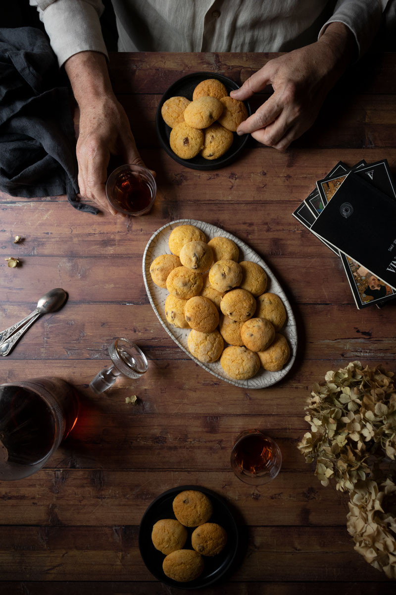 Zaleti: the yellow biscuits with corn flour
