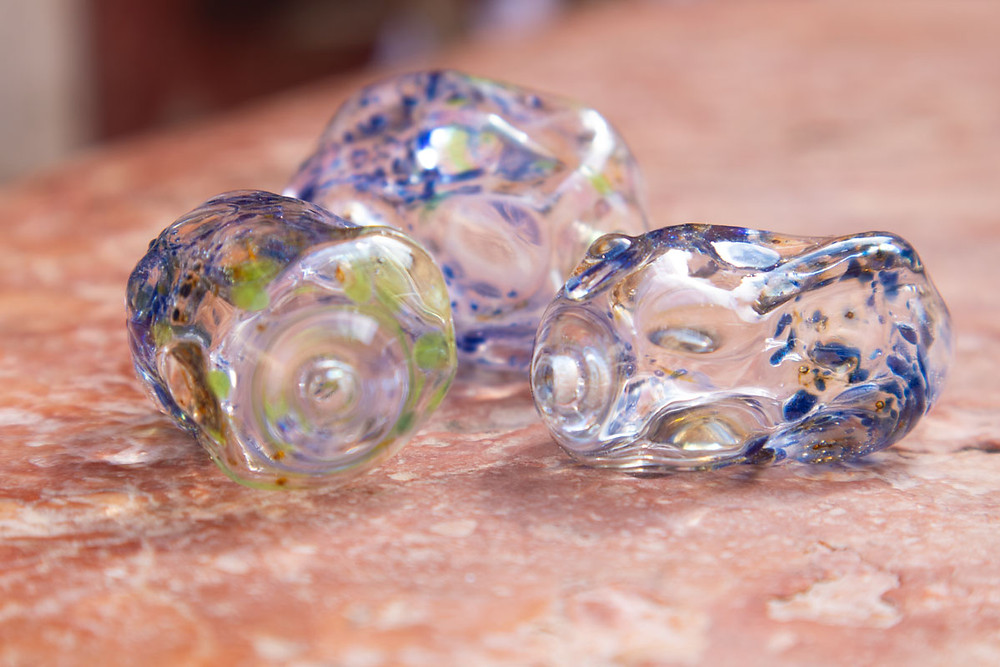 Avventurina bead | Murano Glass